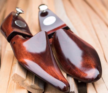 Drewniane prawidła do butów