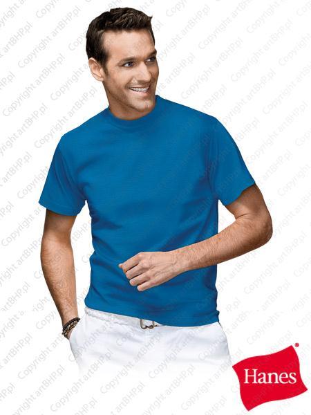 Odzież bhp z logiem firmowym niebieska