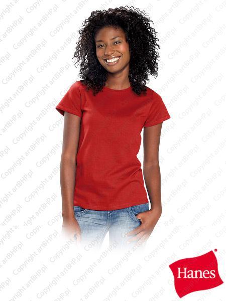 Odzież bhp z logiem firmowym czerwona